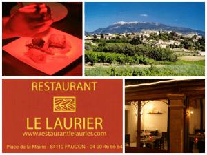 les restaurants à Faucon : le Laurier