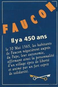 450ème anniversaire du Village de Faucon (Vaucluse)