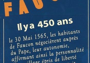 Samedi 11 juillet 2015, Fête des 450 ans de Faucon