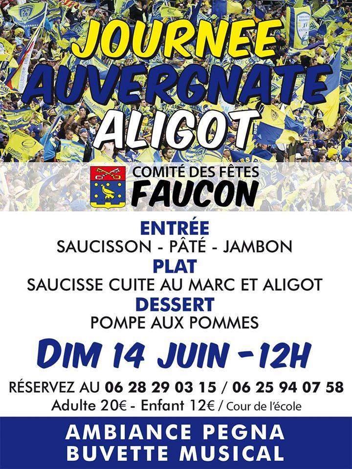 journée auvergnate à faucon 84110 Vaucluse Provence PACA