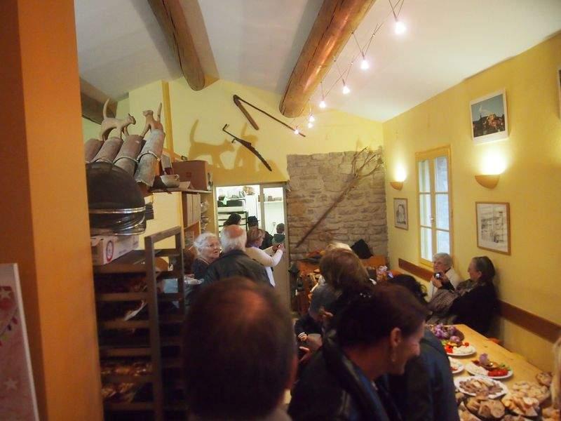 Anniversaire des 10 ans de la boulangerie des tilleuls Faucon 84110 en Provence