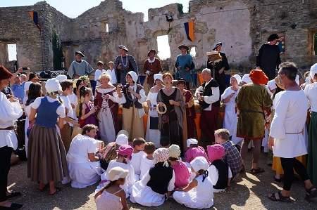 Faucon 450 ans anniversaire chant