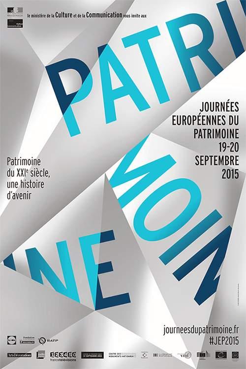 Journées européennes du patrimoine du 19-20 Septembre 2015