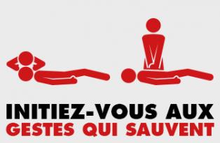 Campagne de sensibilisation aux gestes qui sauvent