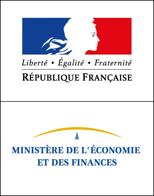 Logo du ministère de l'économie et des finances