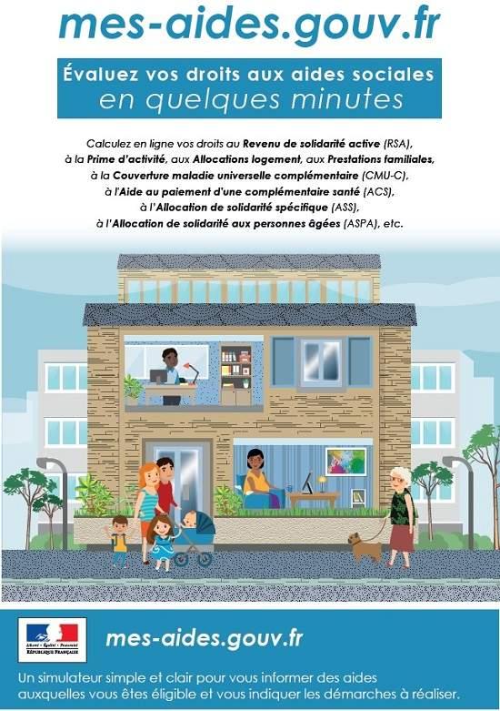 Évaluez vos droits à 24 aides sociales en 7 minutes
