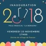 inauguration du pole médical de la Bergère