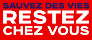 affiche confinement sauver des vies en Vaucluse et commune de Faucon