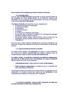 COVID-19 : Mesures de soutien économique – Point en Vaucluse page 1