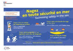 Prevention Noyade dans le village de Faucon et en Mer (Provence, Vaucluse)