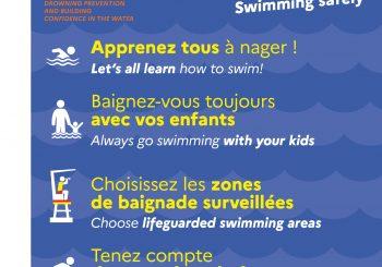 Attention aux noyades accidentelles : adoptez les bons réflexes