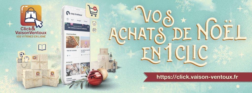 Lancement de la plateforme « Click & Vaison Ventoux »