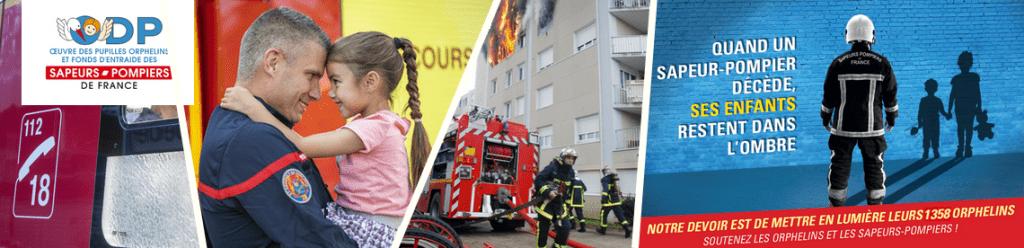 Remerciement pour l'action des pompiers