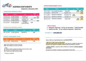 BAFA Agenda 2021-2
